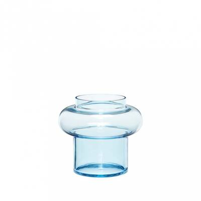 Hübsch vase 2-pack blå