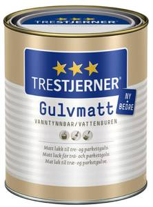 Bilde av TRESTJERNER GULVMATT 0,75L GULVLAKK SCANOX