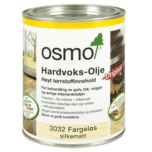 Bilde av Osmo Hardvoks-Olje 0,375  3040 hvit