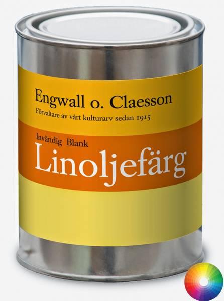 Innvendig brekk blank linoljemaling Engwall o Claesson