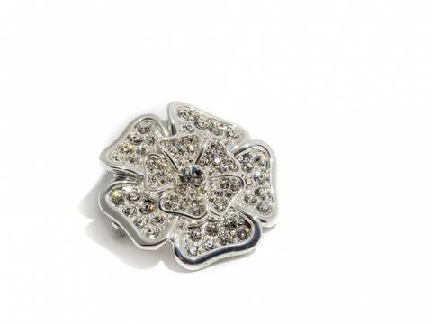 Bilde av 60501 Blomst med klare stener