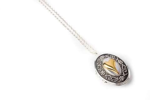 Bilde av 10565 Langt smykke medaljong
