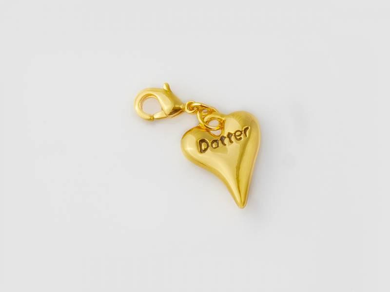 40070 Clips hjerte Datter-Daughter
