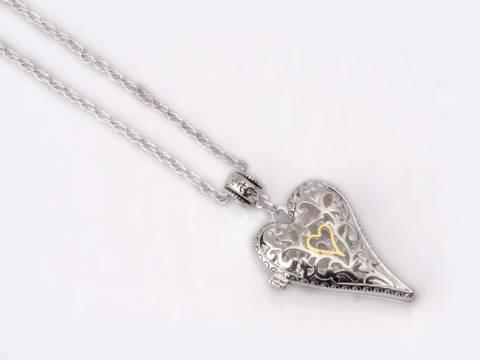 Bilde av 10681 Langt smykke hjerte til clips