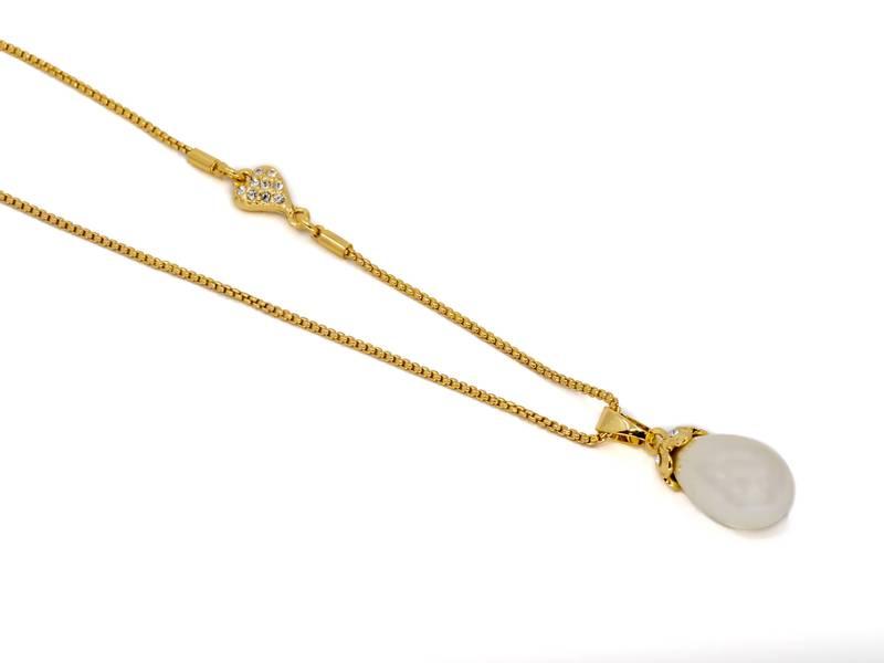 10698 Langt oval perle og hjerte