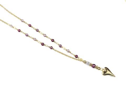 Bilde av 10664 Langt smykke perler i farger