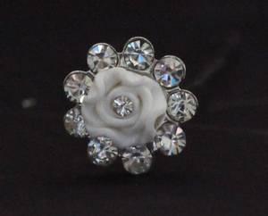 Bilde av Hårpynt blomst liten 10407
