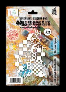Bilde av Aall & Create Dies #22 Checkered Figures