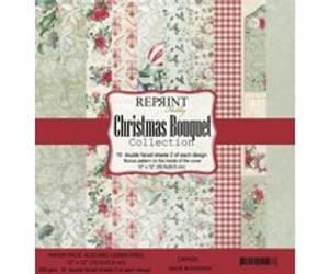 Bilde av Reprint Christmas Bouquet Collection 12x12 inch