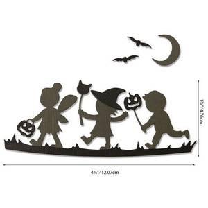 Bilde av Sizzix Thinlits - Lisa Jones Halloween