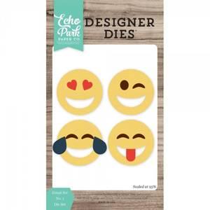 Bilde av Echo Park Designer Dies - Emoji Set NO. 1