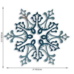 Bilde av Sizzix Thinlits Die Set - Stunning Snowflake 2pk