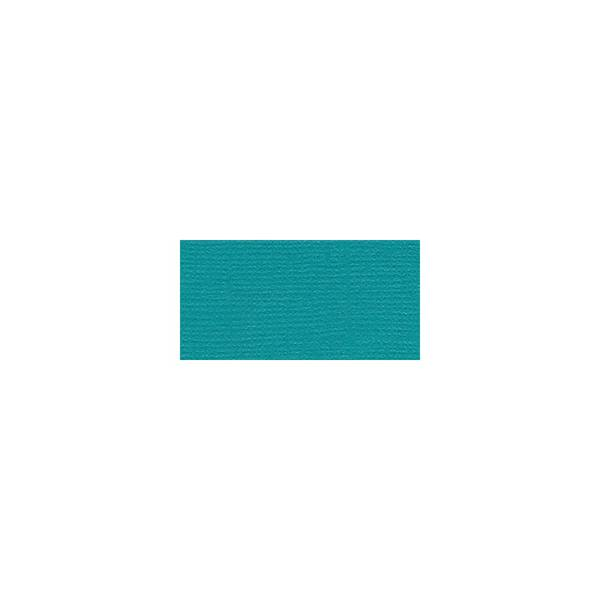 Bazzill Fourz Cardstock 12X12 Blue Oasis/Grasscloth
