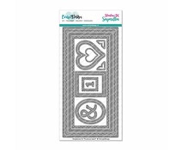 CarlijnDesign Cutting dies DL Slimline Card
