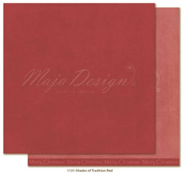 Maja -Monochromes - Shades of Tradition - Red