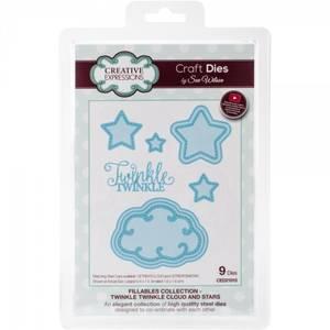 Bilde av Creative Expressions Die - Twinkle Twinkle Cloud