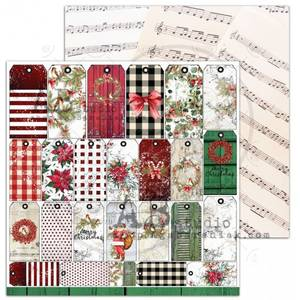 Bilde av AB Studio - A Holly Jolly Christmas - Jolly tags