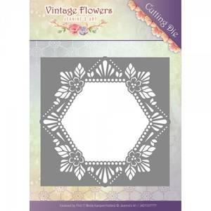 Bilde av Find It Trading Jeanine'e Art - Floral Hexagon