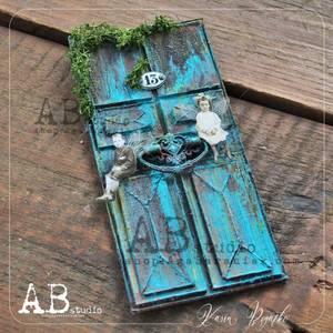Bilde av AB studio - Mixed media cardboard - ID-197