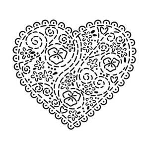 Bilde av The Crafter Workshop - Mini Embroidered Heart
