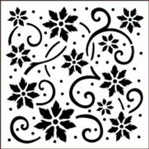 Bilde av Imagination Crafts - Stencil - ST  Flower