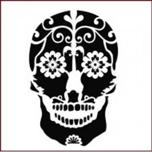 Bilde av Imagination Crafts - Stencil - ST Sugar Skull