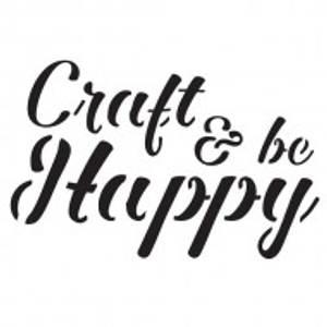 Bilde av Imagination Crafts - Mini Stencil - ST Craft and