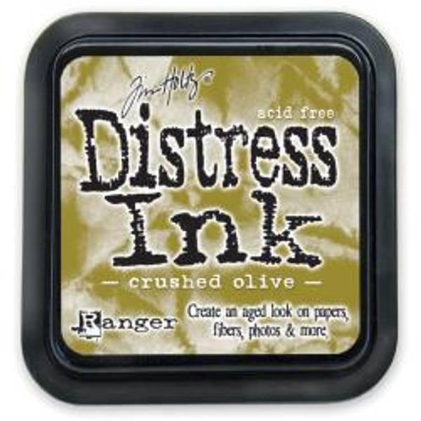 Distress Ink - Crushed Olive