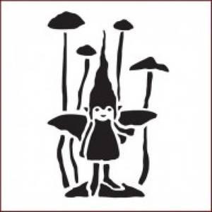 Bilde av Imagination Crafts - Stencil - ST PIXIE RING