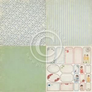 Bilde av Pion Design - Play Time - Flowers -6x6