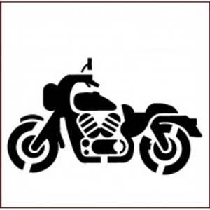 Bilde av Imagination Crafts - Stencil - ST  Motobike