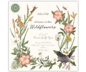 Bilde av Craft Consortium Wildflowers 6x6 tommers arkpakke