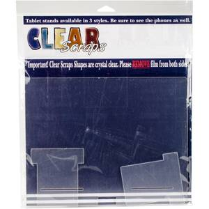 Bilde av Clear Scraps Acrylic Tablet Stand -Regular