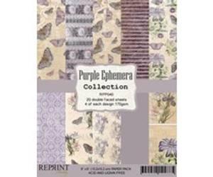 Bilde av Reprint Purple  Collection 6x6 inch Paper Pack