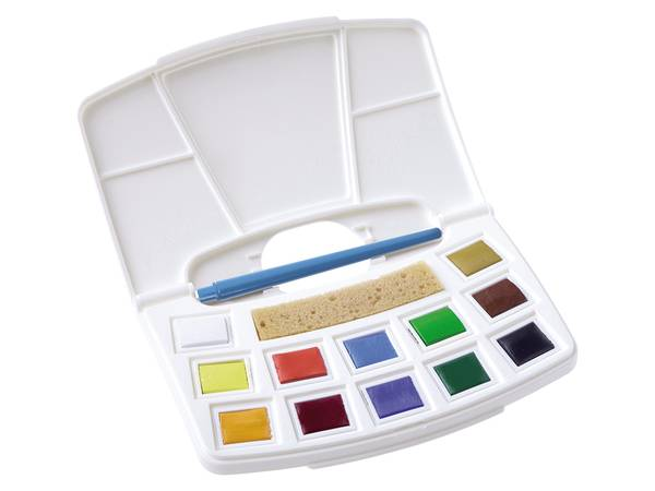 Art Creation Water Colour Pocketbox 12 pans