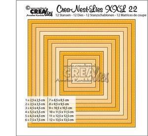 Bilde av Crealies Crea-Nest-dies XXL no. 22 die square