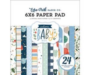 Bilde av Echo Park 6x6 Paper Pad Baby Boy