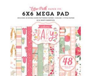 Bilde av Echo Park 6x6 Paper Pad Baby Girl