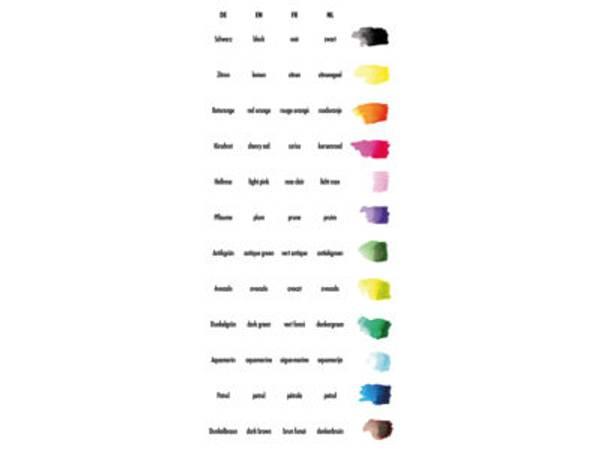 Marabu Graphix Aqua Pen – Mega Mash – 12stk