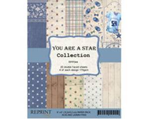 Bilde av Reprint You are a star Collection 6x6 inch Paper