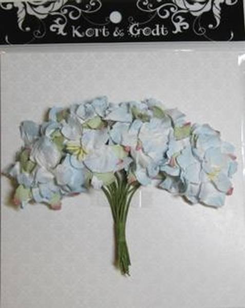 Kort og Godt Gardenia lys blå