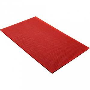 Bilde av Bivoksplater, 20x33 cm, 2 mm, Rød, 1 Stk.