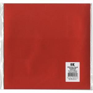 Bilde av Best Creation Shimmerkartong Red