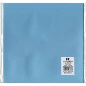 Bilde av Best Creation Shimmerkartong Sky Blue