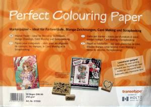 Bilde av Perfect Colouring Paper 10stk A4