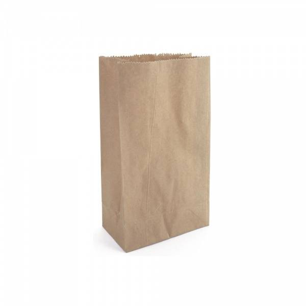 Papirpose Kraft 12,8 x  25