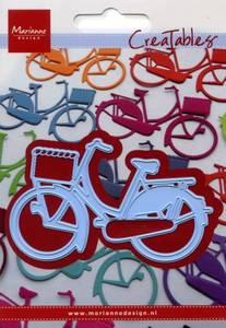 Bilde av Marianne Design - CreaTables - Sykkel med korg