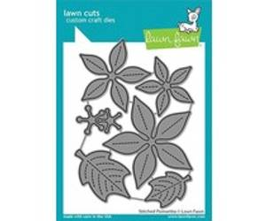 Bilde av Lawn Fawn Stitched Poinsettia Dies