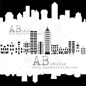 Bilde av AB Studio stensil - City