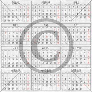 Bilde av Papirdesign mønsterark - Kalender 2021